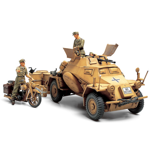 Tamiya 1/35 German Armoured Car KFZ222 35286