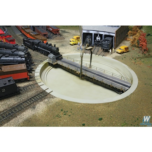Walthers HO 90' DCC Turntable 90'
