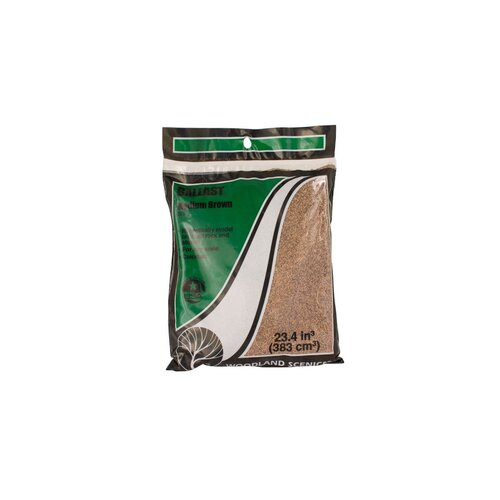 Woodland Scenics Brown Coarse Ballast Bag B86